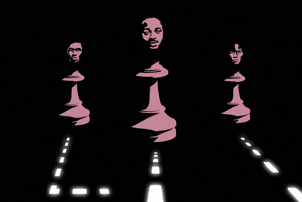 Chess Moves, 2016 Digital illustration