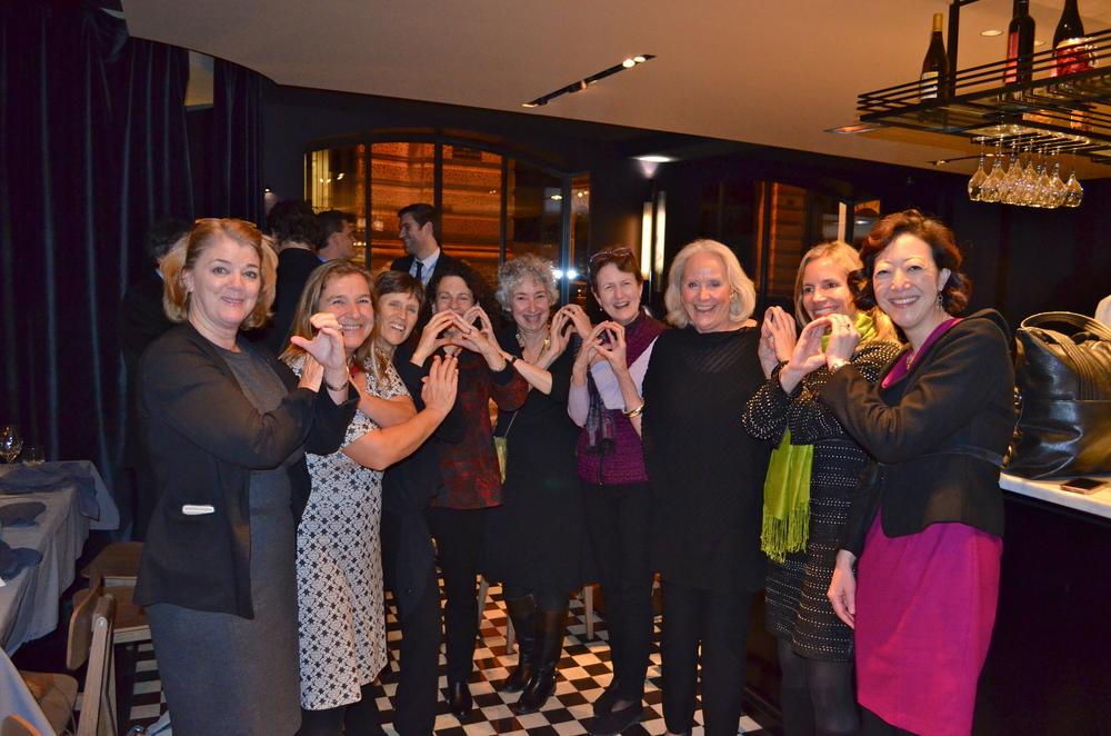 NRDC Rhea Suh, Frances Beinecke & Staff.JPG