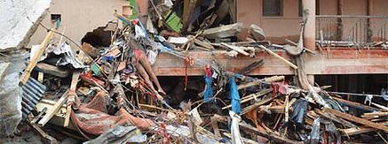 CYCLONE PHAILIN RAVAGED OVER 300,000 HOUSES IN COASTAL ODISHA IN INDIA'S EAST COAST.