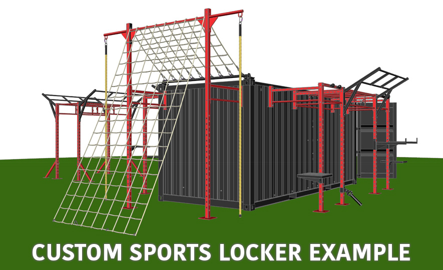 Custom Sports Locker Example