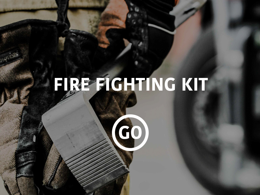 Fire Fighting Kit Small Box