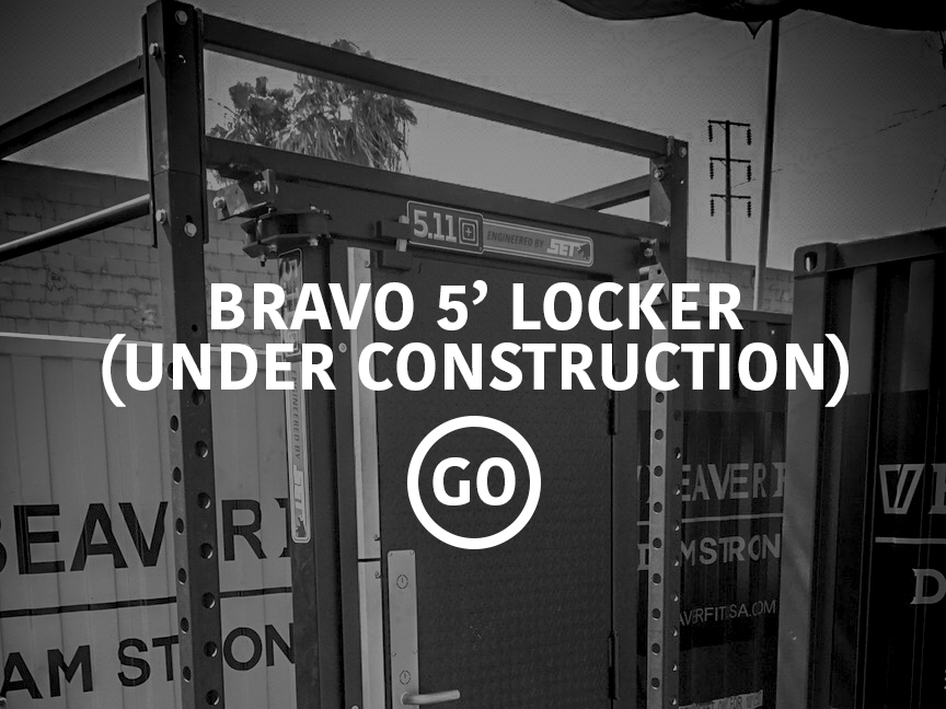 Bravo 5' Locker Small Box