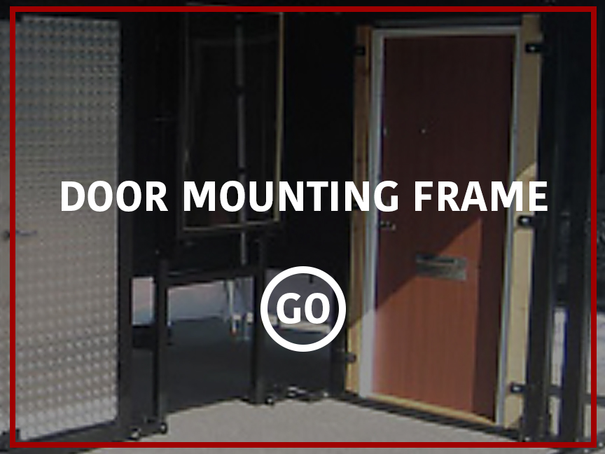 Door Mounting Frame Small Box
