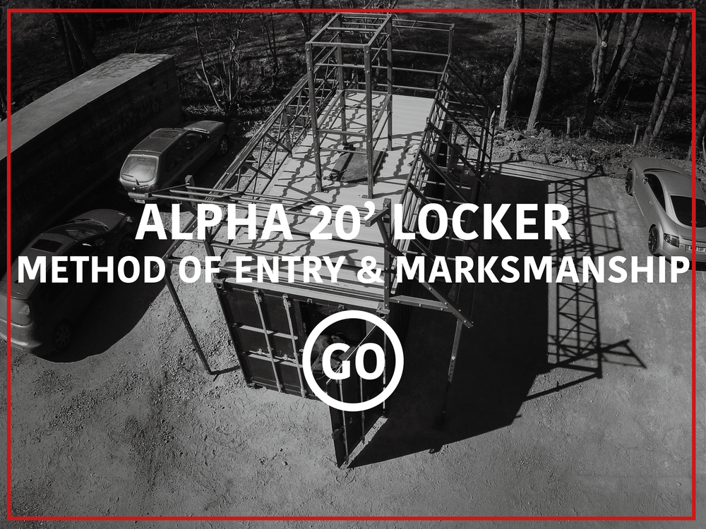 Alpha 20' Lockers Shooting & Breaching Small Box
