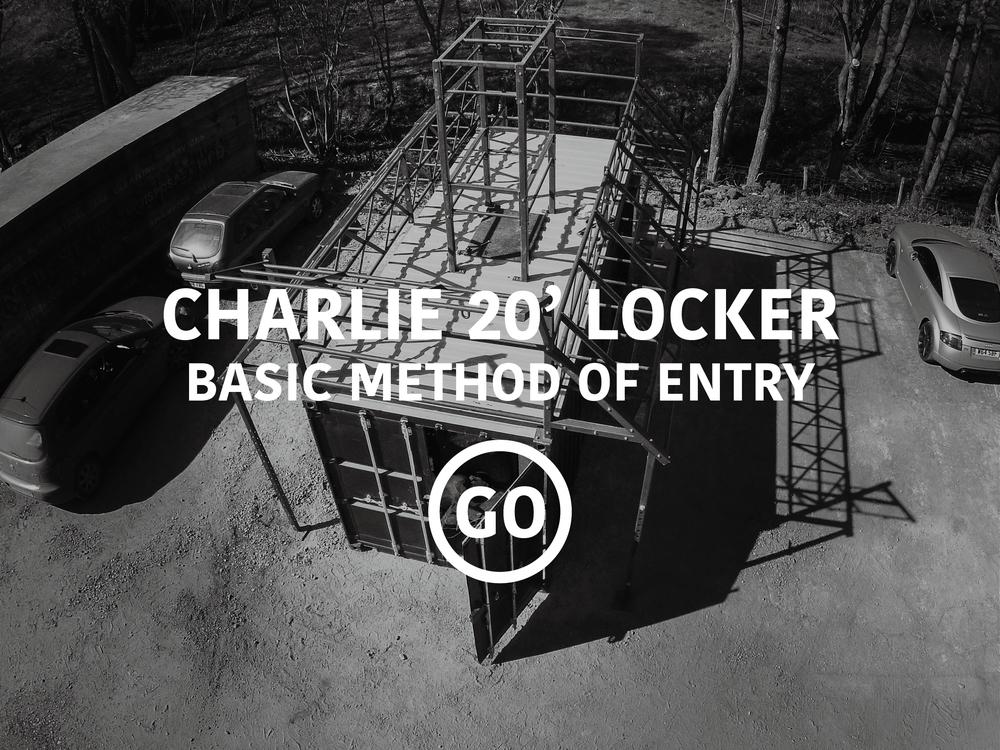 Charlie 20' Lockers Basic Breaching Small Box