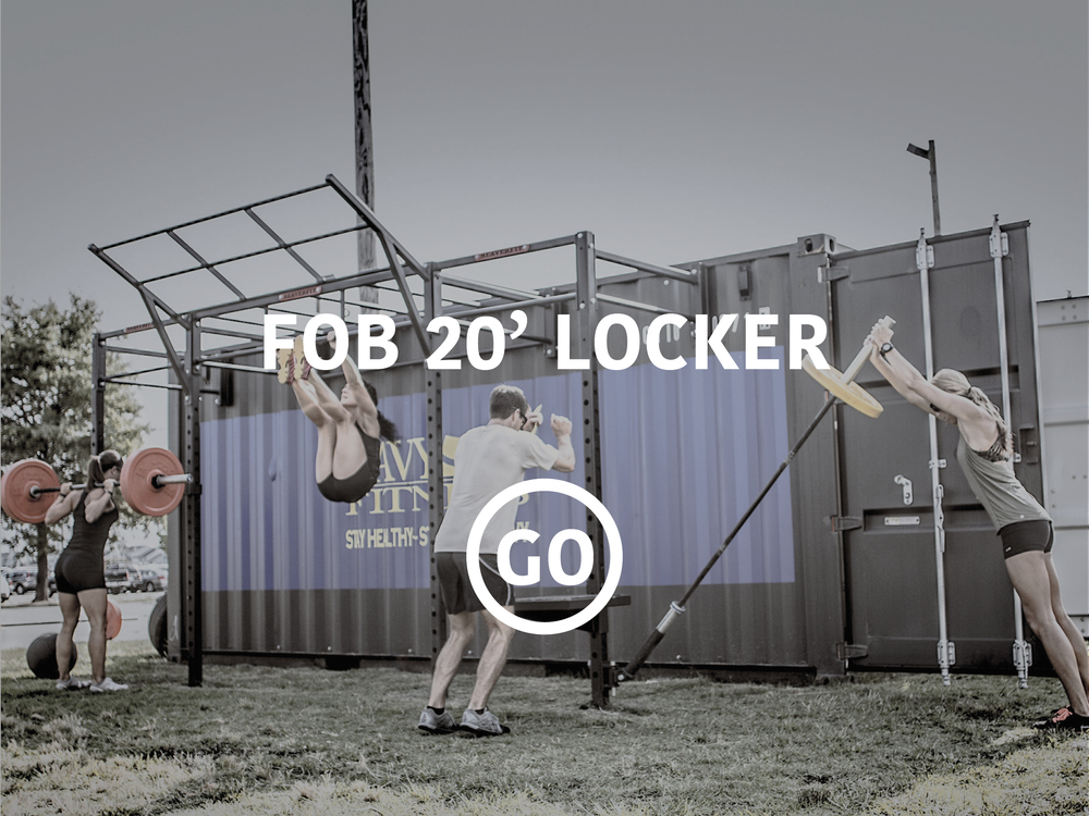 20' Deployable Locker Small Box