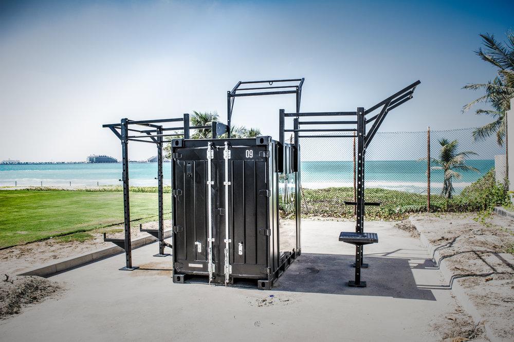 - gym 5' locker