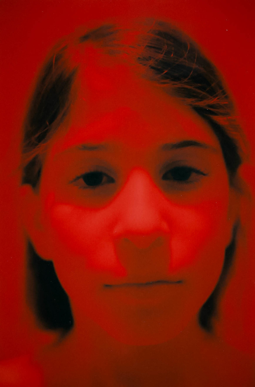 Gianna Under Heatlamp, 2016
