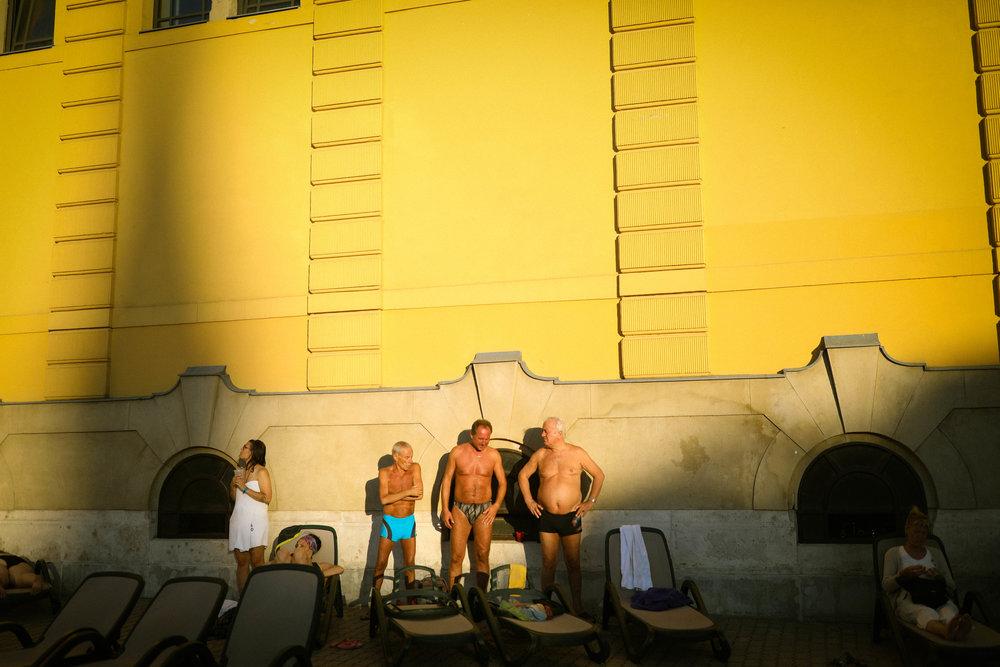 Bathhouse, Hungary, 2017