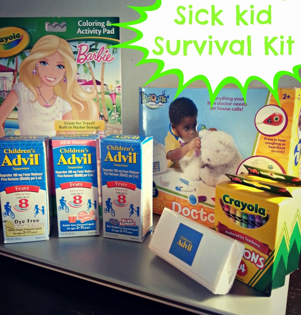sick kid survival kit