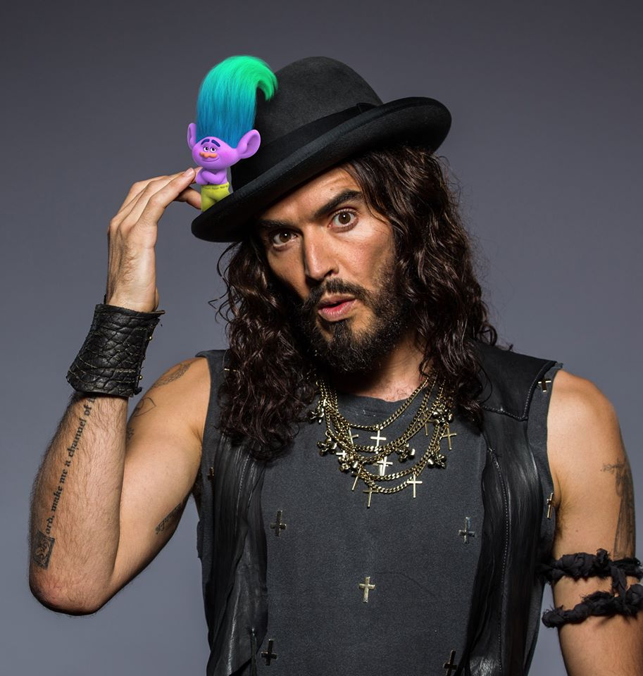 Russell Brand is Creek
