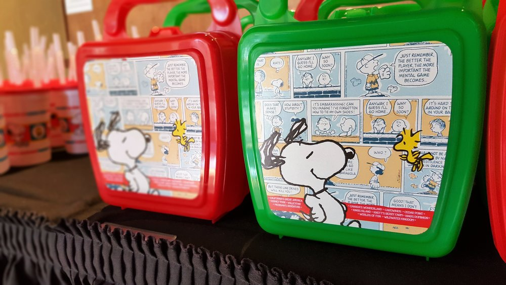 P.s. How cute are these little Snoopy lunchboxes?!  They're available throughout the park.