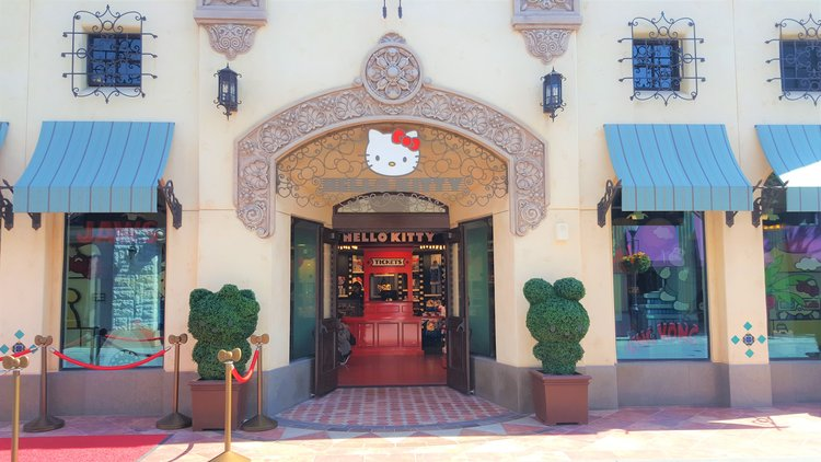 05bd00829 Hello Kitty Has a New Home at Universal Studios Hollywood — KindaSillyMommy