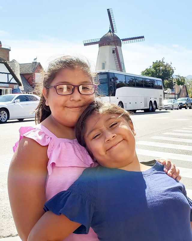 They didn't know where they were going or what was in store for them, but we're having a blast on our adventure. First stop, #Solvang! #RoadTrip #california #FindNewRoads #adventure