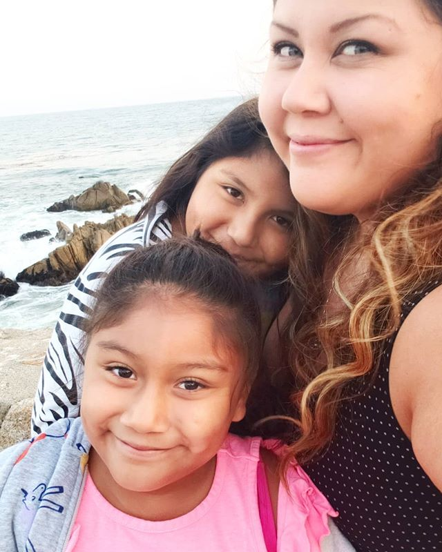 Me and my girls, having the best time ever on our road trip up North. #carmelbythesea #beach #monterey #pacificgrove #family