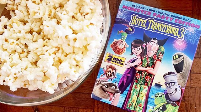 Just in time for Halloween, Hotel Transylvania 3 is now out on Digital and DVD/Bluray! We were sent a coffin filled with goodies to help celebrate, including a Mavis costume! We are all set for a movie night. Head to the blog to enter to win a copy of the DVD. #hotelt3 #dvd #giveaway #bluray #halloween #dracpack #mavis