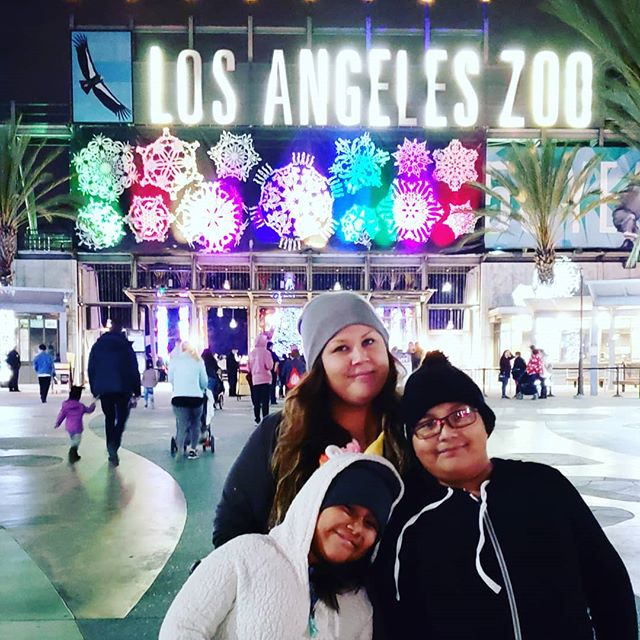 Yes!! It's officially that time of year!!! #LAZooLights is now open for the next 7 weeks! Get out, bundle up and wander the #LAZoo at night while it's lit up in holiday cheer! #socal #family #holidays #zoo #christmas #thanksgiving #fun
