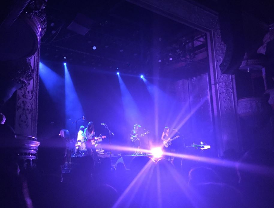 Warpaint at Thalia Hall in Chicago 9/30