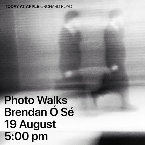 BRENDAN Ó SÉ IN APPLE SINGAPORE