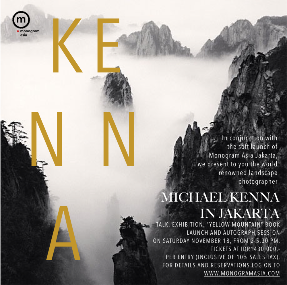 MICHAEL KENNA IN JAKARTA ON NOV 18