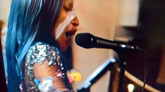 My new hero ❤ @joymbatha #joymbatha sings #diemauer #ebbagrön #ebbotsark #svt