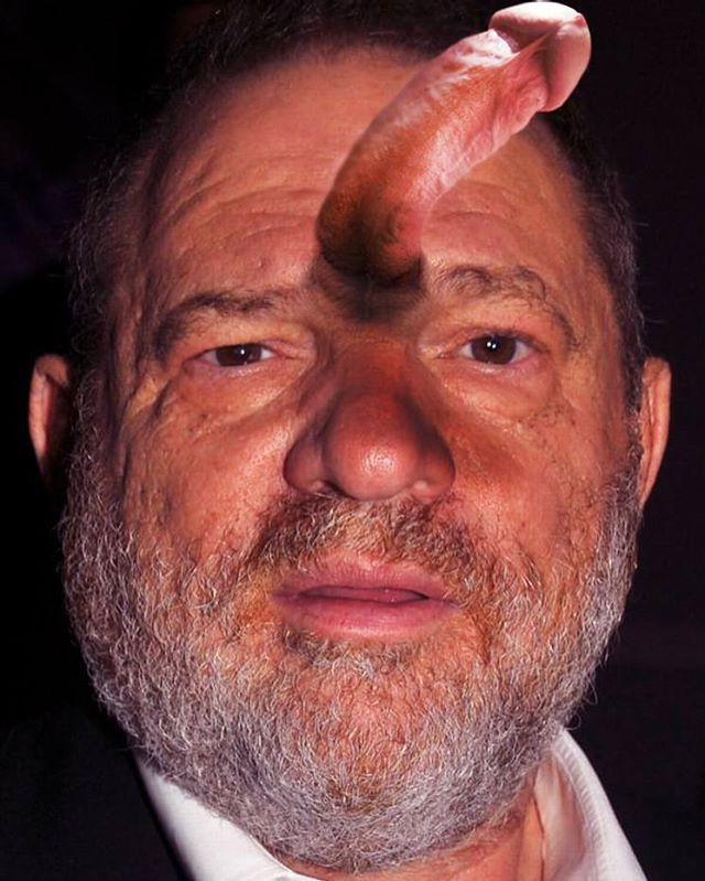 A man who used his influence and power. Sounds familiar. #fucking #dickhead #harveyweinstein #jagsthlm #wallery #wallerygallery #mypussymychoice #thediagnosedgeneration