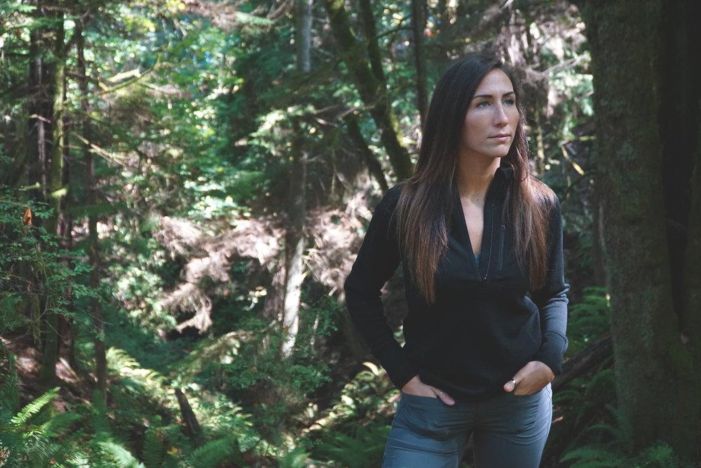 Minus 33 Merino Wool Catalog Photography Shoot Point Defiance Park Tacoma WA
