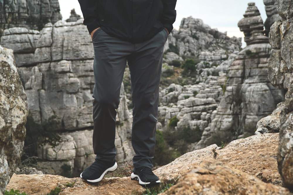 Rhone Commuter Pant in Asphalt / El Torcal, Spain
