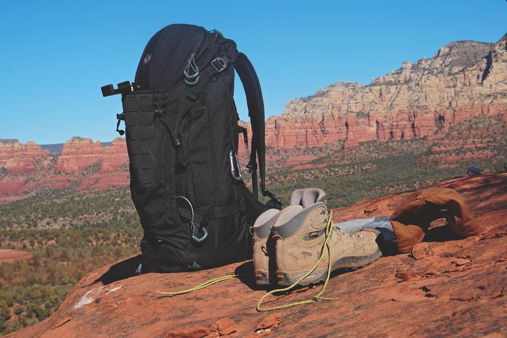 SOG Backpack in Sedona Arizona