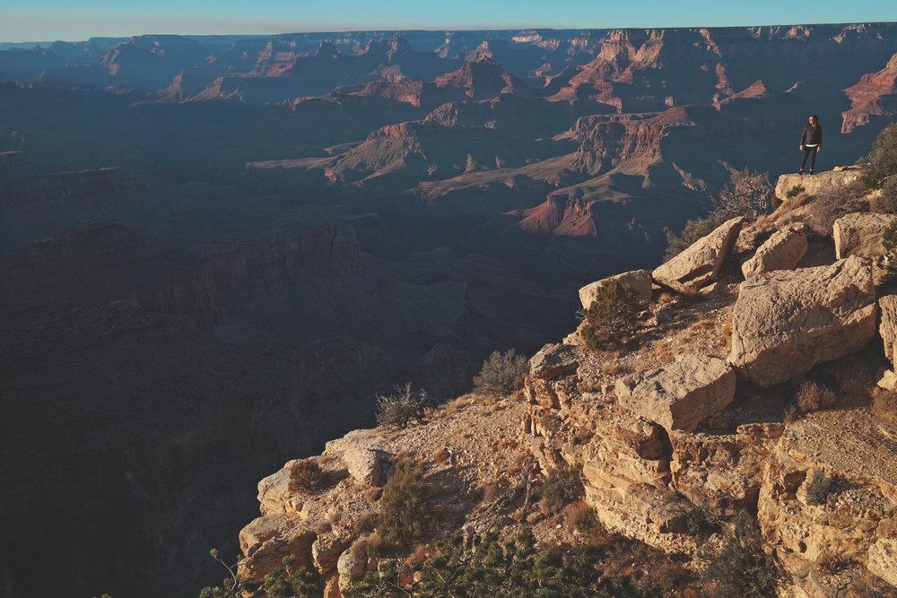 Arizona Grand Canyon Golden Hour Photograph