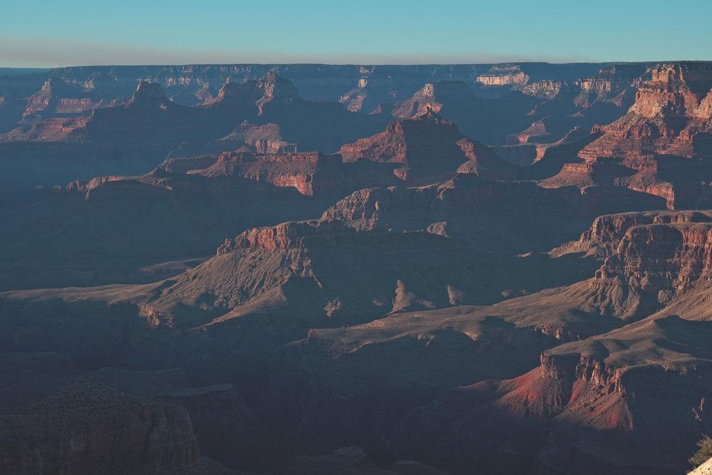 Arizona Grand Canyon Sunset Photo 2018