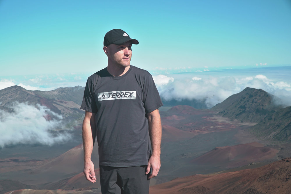 Adidas Terrex Maui, Hawaii Haleakala Volcano Crater Photo