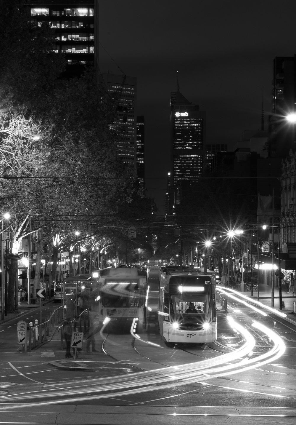 Melbourne's number 96 tram