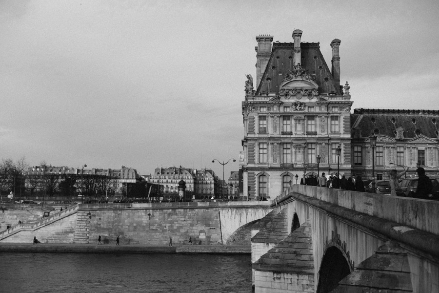 A bridge in Paris