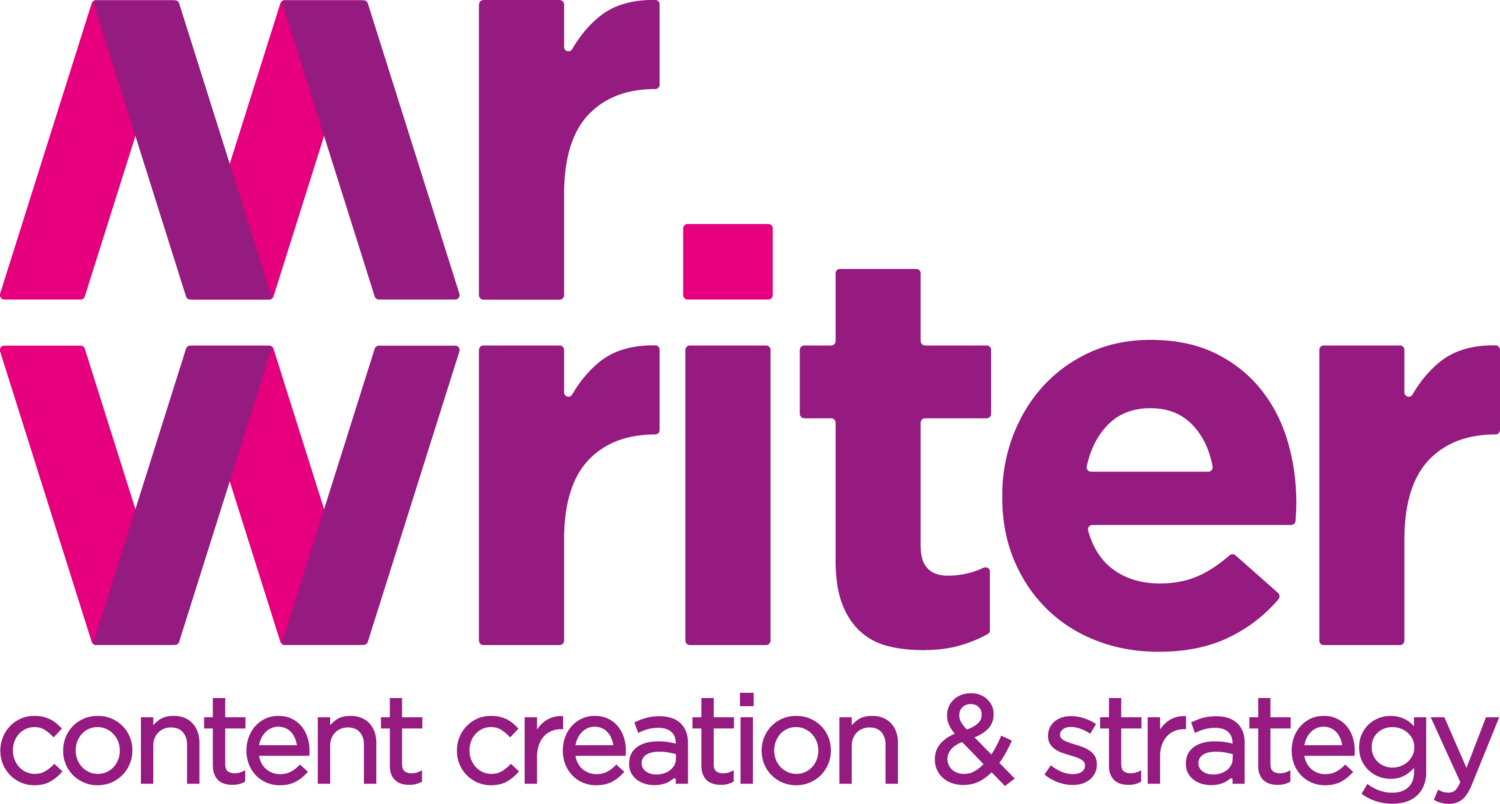 Mr Writer - Content creation & strategy