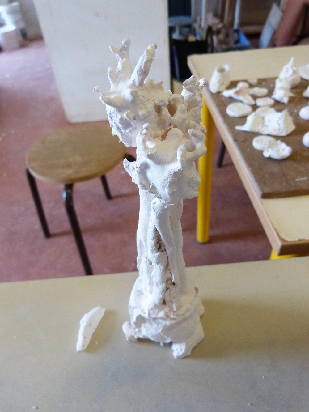 Porcelaine matières ajoutées