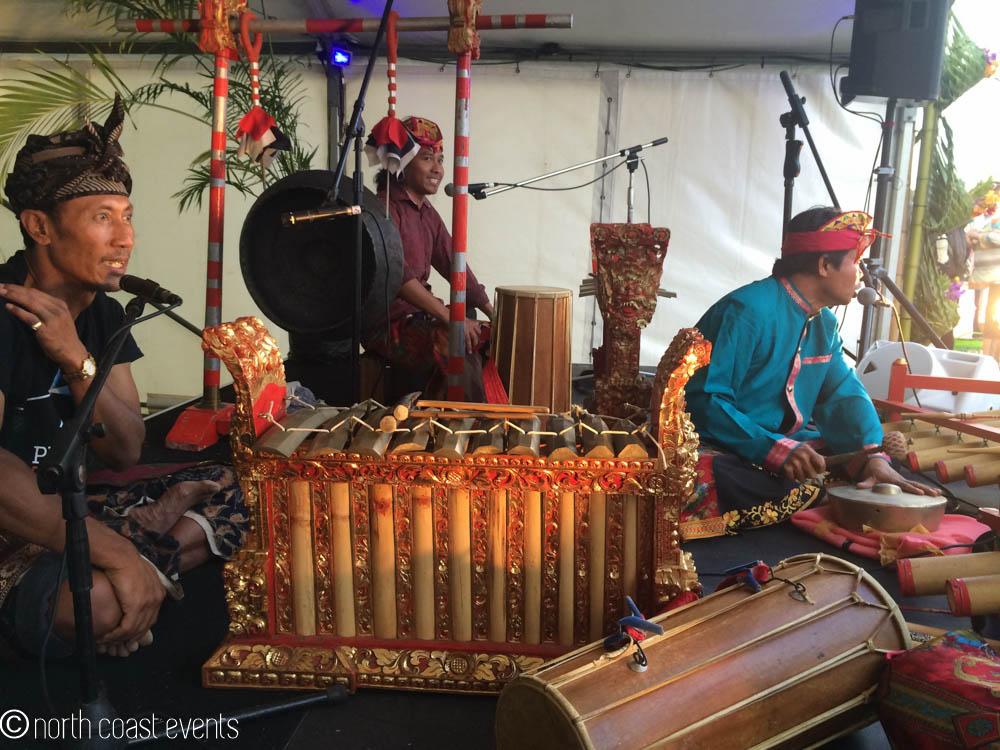 Gamelan orchestra, UPLIFT festival 2013