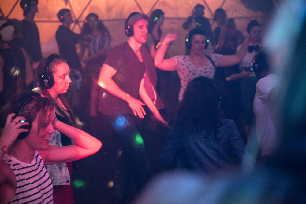 Splendour in the Grass Electric Garden Silent Disco 2015