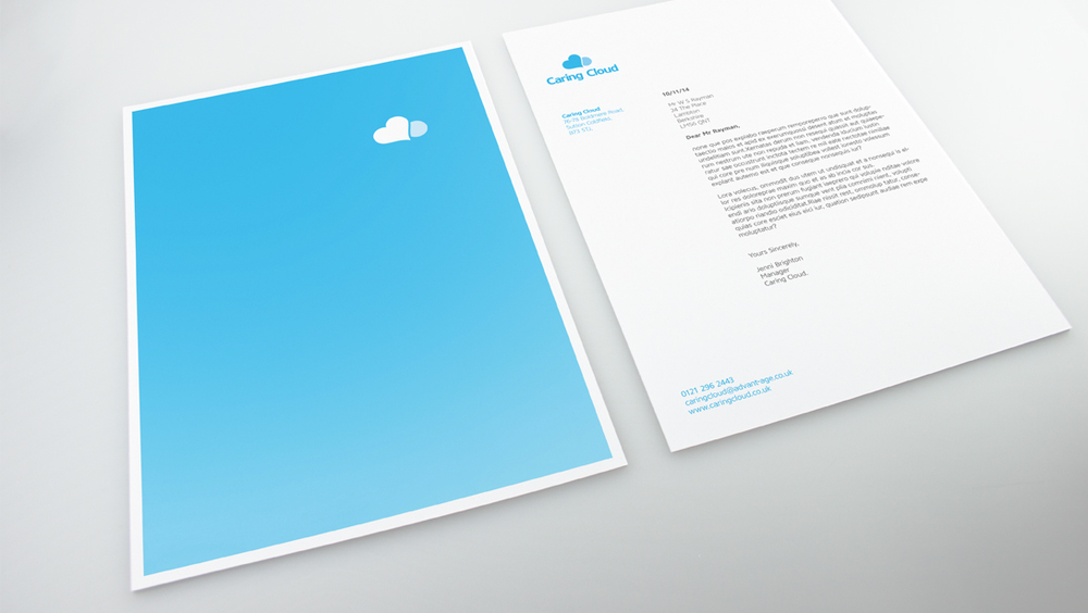 Caring Cloud Stationery