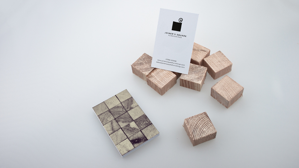 Joiner's Square Furnishings Business Cards