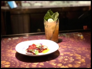 Etete's Perfect Fall Cocktail and Mumbo Glazed Duck