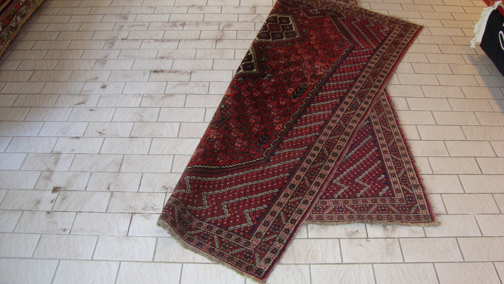 Voorbehandeling reiniging Perziche tapijten