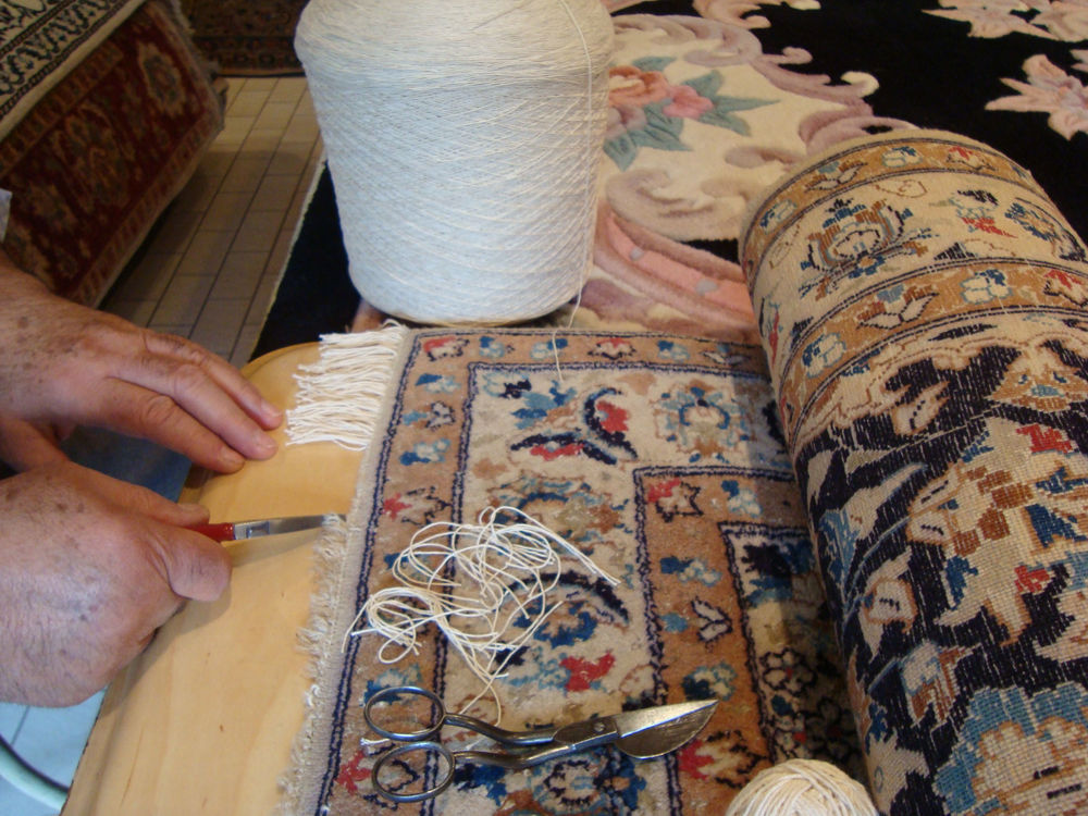 Perzisch Tapijt Reinigen : Reparatie perzische tapijten vakkundig atelier u2014 derag perzische