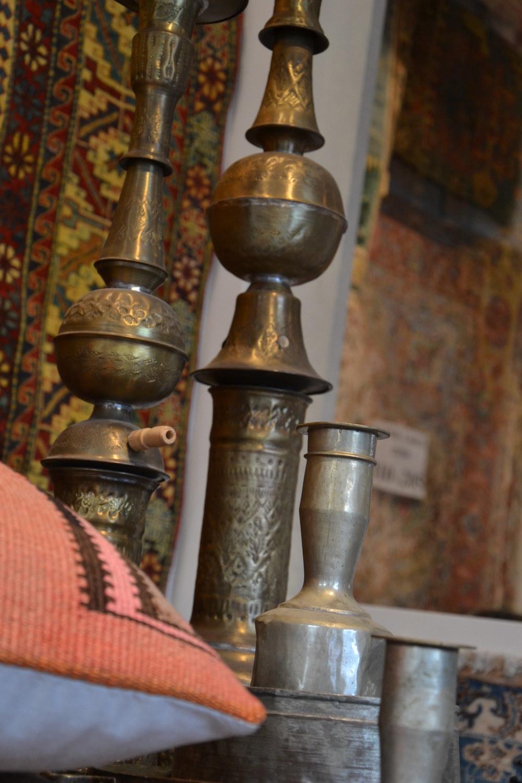Naast tapijten ook Perzisch koperwerk en kunstnijverheid