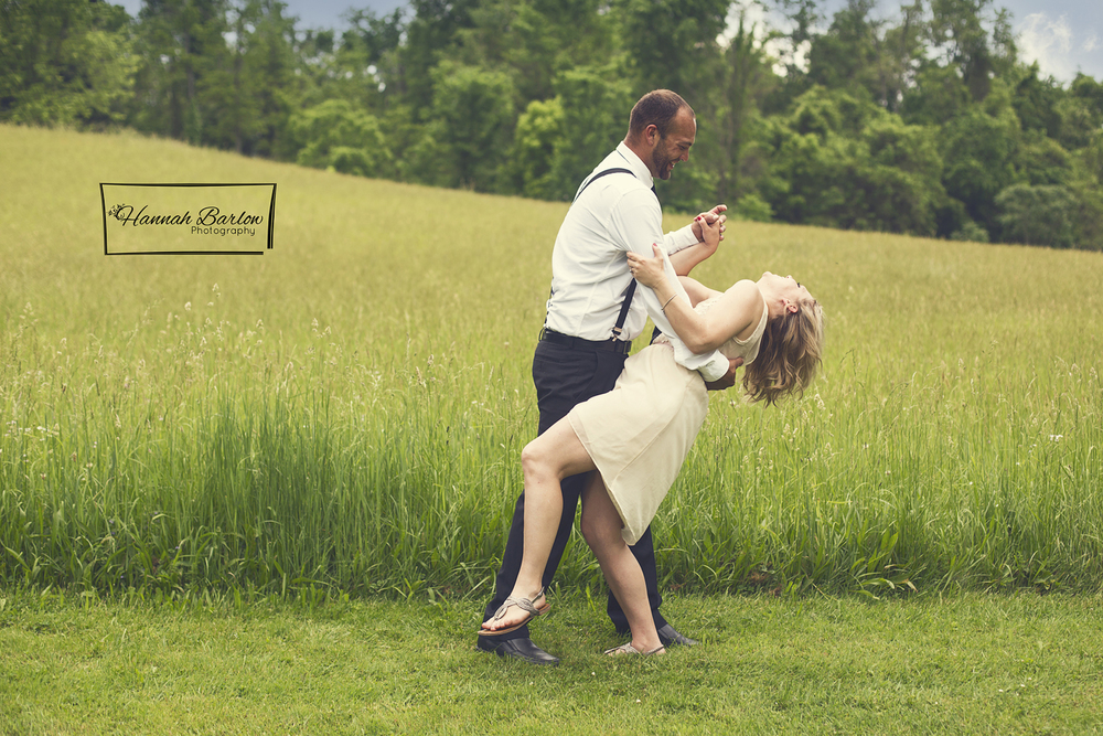 Wellsburg, WV Earthy/Vintage Engagement Photo