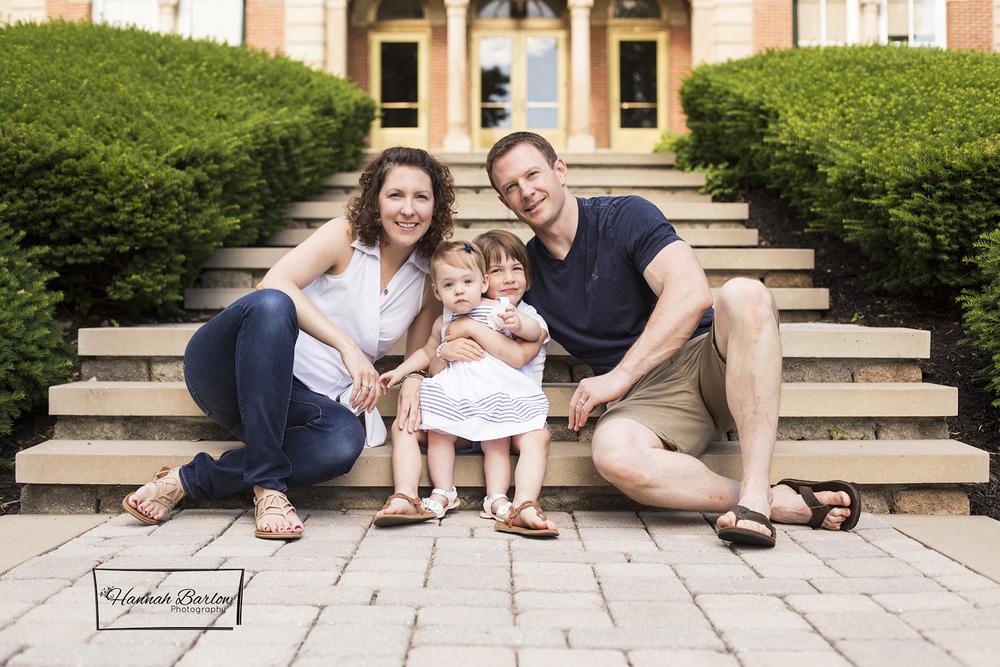 Washington, PA Family Photos W&J Campus