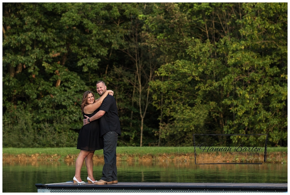 Country Lake Engagement Session Wellsburg, WV