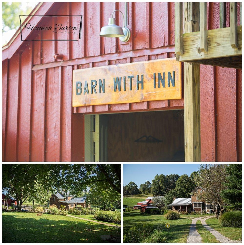 Barn with Inn, Wellsburg, WV