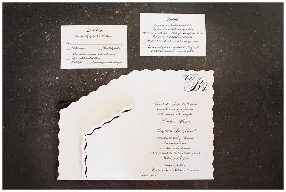 Weirton Wedding Invitation