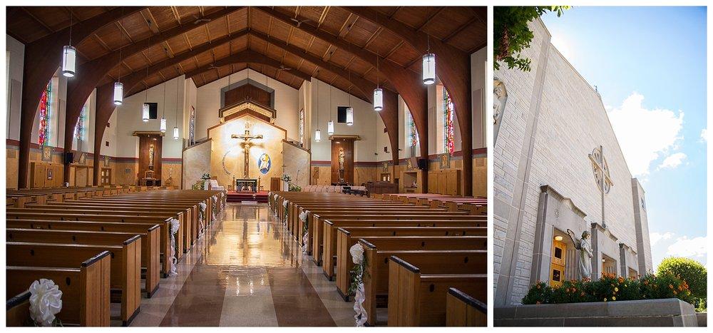 Weirton, WV Wedding St. Joseph the Worker Parish